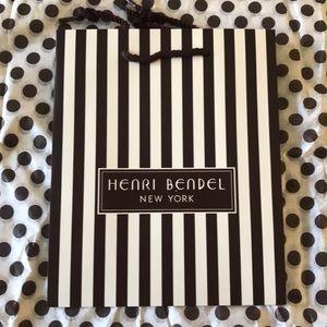 Henri Bendel Bag + Tissue Papers